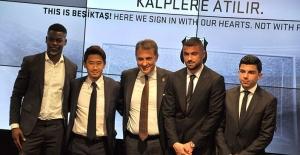 Beşiktaş'ın Yeni Transferler İçin İmza Töreni Yapıldı