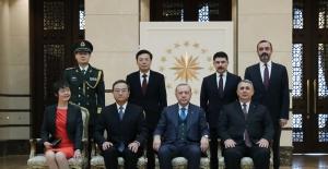Cumhurbaşkanı Erdoğan'a İtalya, Çin, Macaristan Ve İran Büyükelçisi'nden Güven Mektubu