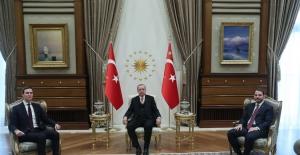 Cumhurbaşkanı Erdoğan, ABD Başkanı Trump'ın Kıdemli Danışmanı Kushner'i Kabul Etti