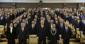 Cumhurbaşkanı Erdoğan, Anayasa Mahkemesi Üyesi Seferinoğlu'nun Yemin Törenine Katıldı