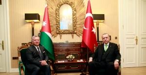 Cumhurbaşkanı Erdoğan, Ürdün Kralı II. Abdullah İle Görüştü