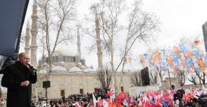 """""""Edirne'yi Taşkınlardan Korumak İçin Kanal Edirne Projesi'ni Hayata Geçiriyoruz"""""""