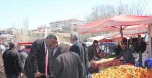 """CHP'li Gürer: """"Bor Pazarında Esnaf Sayısı, Alışverişe Gelen Vatandaş Sayısından Fazla"""""""