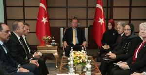 Cumhurbaşkanı Erdoğan, Yeni Zelanda Dışişleri Bakanı Ve Başbakan Yardımcısı Peters'ı Kabul Etti