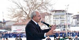 """Kılıçdaroğlu; """"Mücadelemiz Hak, Millet, Bayrak, Güzel Türkiye Mücadelesidir"""""""