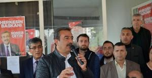 """""""Merkez Sağ Da Çetin'in Yanında"""""""
