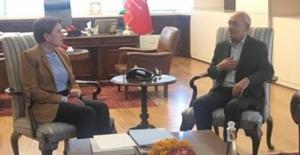 Akşener'den Kılıçdaroğlu'na Geçmiş Olsun Ziyareti