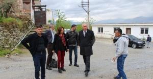 Başkan Tuncel'den İlk Ziyaret Bağarası'na