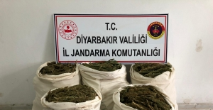 Diyarbakır'ın Lice İlçesinde 85,052 Kg Esrar Maddesi Ele Geçirildi