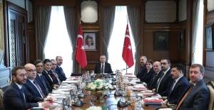 Hukuk Politikaları Kurulu, Cumhurbaşkanı Erdoğan Başkanlığında Toplandı