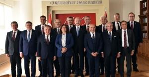 Kılıçdaroğlu, CHP'li Büyükşehir Belediye Başkanları İle Bir Araya Geldi
