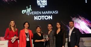 """Koton'a """"En İyi İşveren Markası Ödülü"""""""