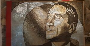 250 Bin Vida İle Yapılan Atatürk Portresi, Dünya Rekorlar Kitabına Girmeyi Bekliyor