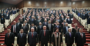 Cumhurbaşkanı Erdoğan, Danıştay'ın Kuruluş Yıl Dönümü Programına Katıldı