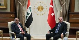 Cumhurbaşkanı Erdoğan, Irak Başbakanı Abdülmehdi Resmi Törenle Karşıladı