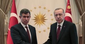 Cumhurbaşkanı Erdoğan, TBB Başkanı Feyzioğlu'nu Kabul Etti