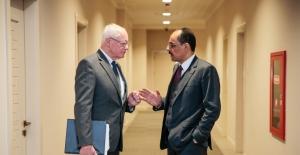 Cumhurbaşkanlığı Sözcüsü Kalın, ABD Suriye Özel Temsilcisi Jeffrey İle Görüştü