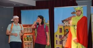 Söke'de Çocuklara Tiyatro İle Çevre Eğitimi