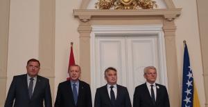 Cumhurbaşkanı Erdoğan, Bosna Hersek Devlet Başkanlığı Konseyi Üyeleriyle Görüştü