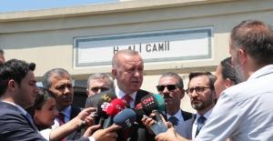 Cumhurbaşkanı Erdoğan'dan Patlamaya İlişkin Açıklama