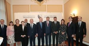 Cumhurbaşkanı Erdoğan, Güneydoğu Avrupa İşbirliği Süreci Zirve Toplantısı Akşam Yemeğine Katıldı