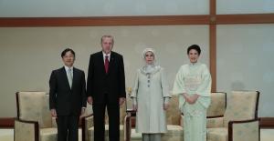 Cumhurbaşkanı Erdoğan, Japonya İmparatoru Naruhito İle Görüştü