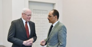 Cumhurbaşkanlığı Sözcüsü Kalın, ABD'nin Suriye Özel Temsilcisi Jeffrey İle Görüştü