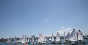 Kadıköy'de Yelkenliler Kabotaj Bayramı İçin Yarıştı