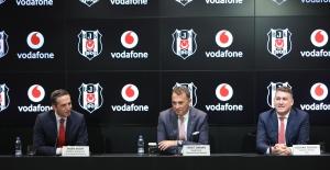 Vodafone Türkiye İle Beşiktaş JK Arasında 36 Milyon TL'lik İmza