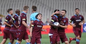 Trabzonspor, Atina'dan Avantajlı Dönüyor