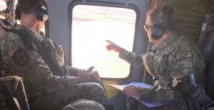 Fırat'ın Doğusunda Üçüncü Ortak Helikopter Uçuşu Gerçekleştirildi
