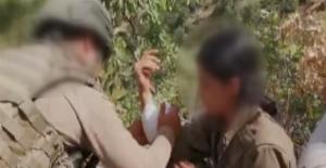 """Yakalanan Kadın Teröristten Örgütteki Diğer Teröristlere Çağrı:  """"İmkan Bulduğunuz Anda Kaçın"""""""