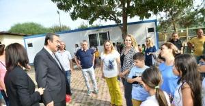 """Başkan Çetin'den Hayvan Severleri Mutlu Edecek Kampanya: """"Her Okula Bir Köpek"""""""