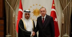 Cumhurbaşkanı Erdoğan, Katar Başbakanı Sani İle Görüştü