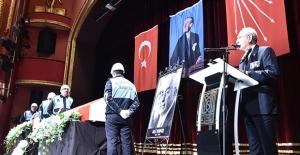 Kılıçdaroğlu, Eski Bakanlardan Orhan Birgit Ve Ali Topuz İçin Düzenlenen Törene Katıldı