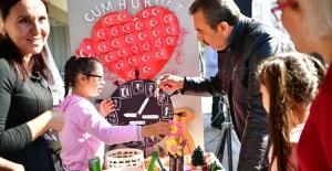 Başkan Çetin Çocuklar Gibi Şendi