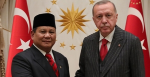 Cumhurbaşkanı Erdoğan, Endonezya Savunma Bakanı Subianto'yu Kabul Etti