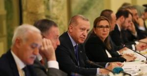Cumhurbaşkanı Erdoğan, Türk Ve ABD'li İş İnsanları İle Bir Araya Geldi