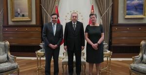 Cumhurbaşkanı Erdoğan, AB Komisyonu Başkan Yardımcısı Schinas ve AB İçişlerinden Sorumlu Komisyon Üyesi Johansson'u Kabul Etti
