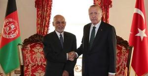 Cumhurbaşkanı Erdoğan, Afganistan Cumhurbaşkanı Gani İle Bir Araya Geldi