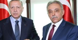 Cumhurbaşkanı Erdoğan, Konya Valisi Toprak'ı Kabul Etti