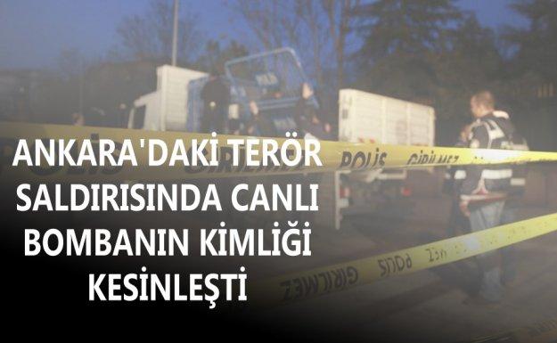 Ankara'daki Terör Saldırısında Canlı Bombanın Kimliği Netleşti