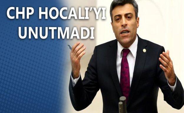 CHP Hocalı'yı Unutmadı