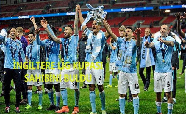 İngiltere Lig Kupasının Sahibi Manchester City