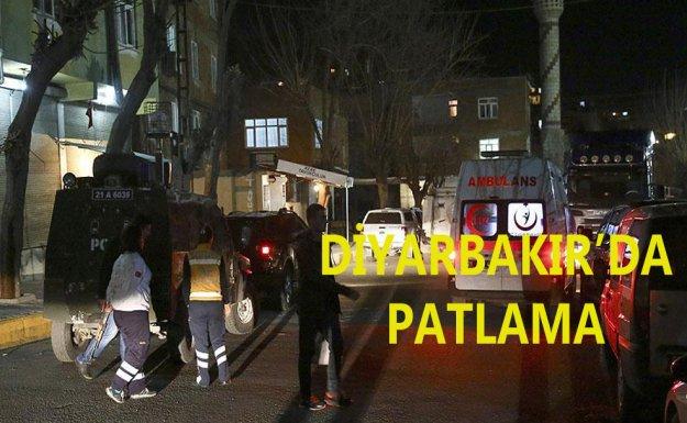 Diyarbakır'da Patlama : 1 Ölü 4 Çocuk Yaralı