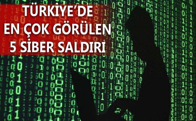 En Çok Karşılaşılan 5 Siber Saldırı