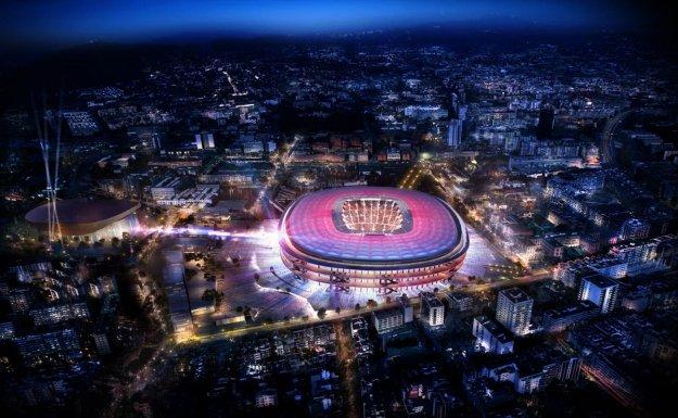Barça Nou Camp'ı Yeniliyor