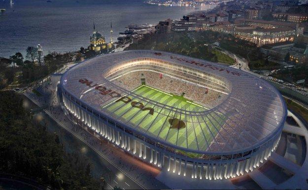 Beşiktaş Yeni Stadını Açıyor