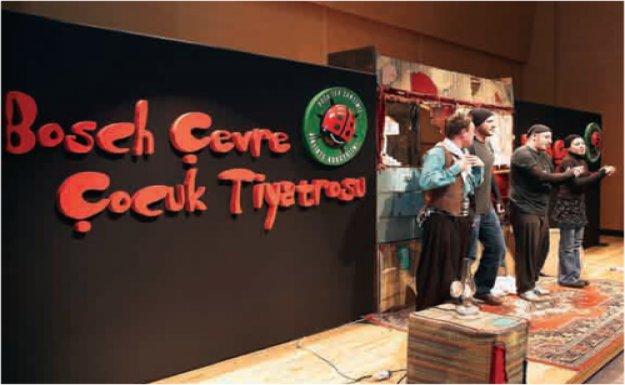 Bosch Çevre Çocuk Tiyatrosu Afyonkarahisarlılarla Buluştu