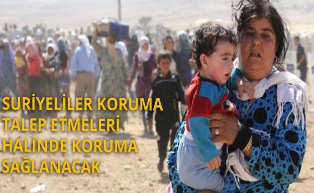 Suriyelilere Koruma Kararı Resmi Gazetede